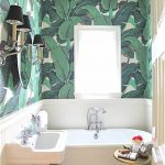 Salle de bain style jungle