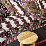 Canapé très colorés