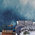 Tout en mur en aquarelle