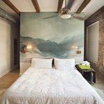 Mur en aquarelle