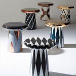Plusieurs petites tables basses design