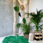 Style feuilles de palmiers