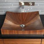 Votre vasque imitation bois