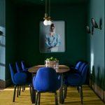 Look vert pour les murs