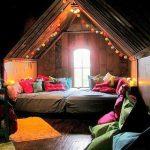 Votre chambre illuminée par une guirlande