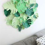 Décoration murale tropical