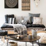 Un espace cocon dans un style bohémien