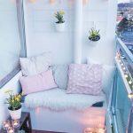 Balcon très chaleureux