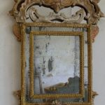 Miroir avec un cadre original